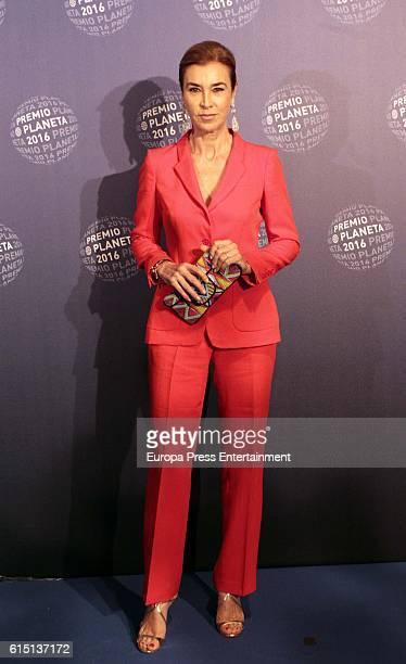 Carmen Posadas attends the 2016 Premio Planeta award on October 15 2016 in Barcelona Spain