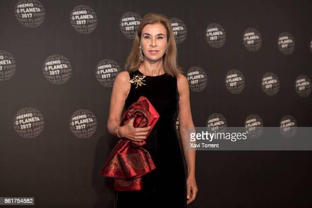 Carmen Posadas attends the 2017 Premio Planeta award on October 15 2017 in Barcelona Spain