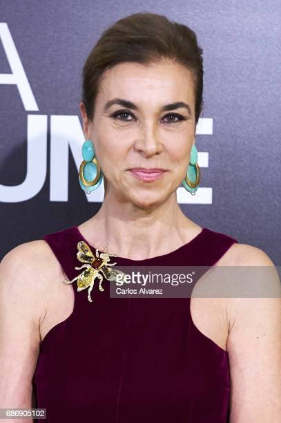 Carmen Posadas attends the 'Academia del Perfume' awards 2017 at the Zarzuela Teather on May 22 2017 in Madrid Spain