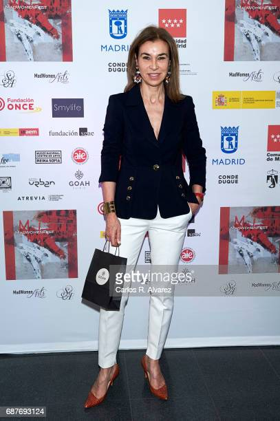 Carmen Posadas attends the 'Madwomenfest' presentation at the Palacio de los Deportes WiZink Center on May 24 2017 in Madrid Spain