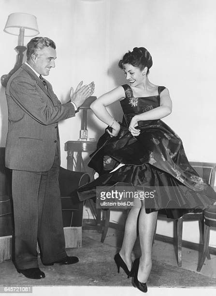 Carmen Sevilla Actor Singer Spain with Vittorio de Sica