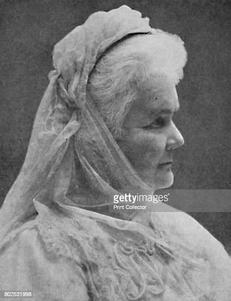 Carmen Sylva Late Portrait of the AuthorQueen' c1925 Elizabeth of Wied also known as Carmen Sylva was Queen Consort of King Carol I of Romania who...