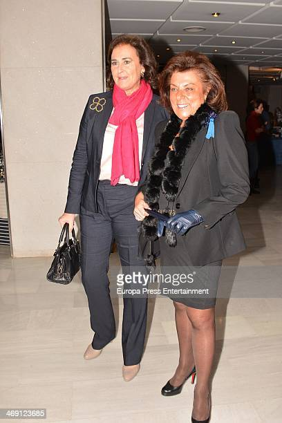 Carmen Tello attends opening of 'Rastrillo Nuevo Futuro' at Los Lebreros Melia Hotel on February 12 2014 in Seville Spain