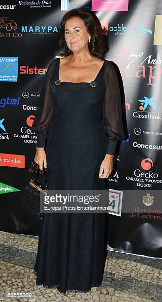 Carmen Tello attends the 2013 Escaparate Awards at Portugal Consulte on October 4 2013 in Seville Spain