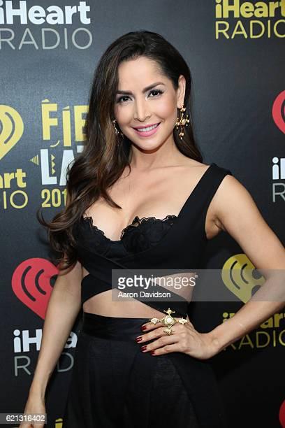 Carmen Villalobos attends iHeartRadio Fiesta Latina at American Airlines Arena on November 5 2016 in Miami Florida