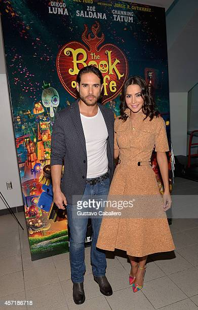 Carmen Villalobos attends 'THE BOOK OF LIFE' Red Carpet at Regal South Beach 18 on October 13 2014 in Miami Florida