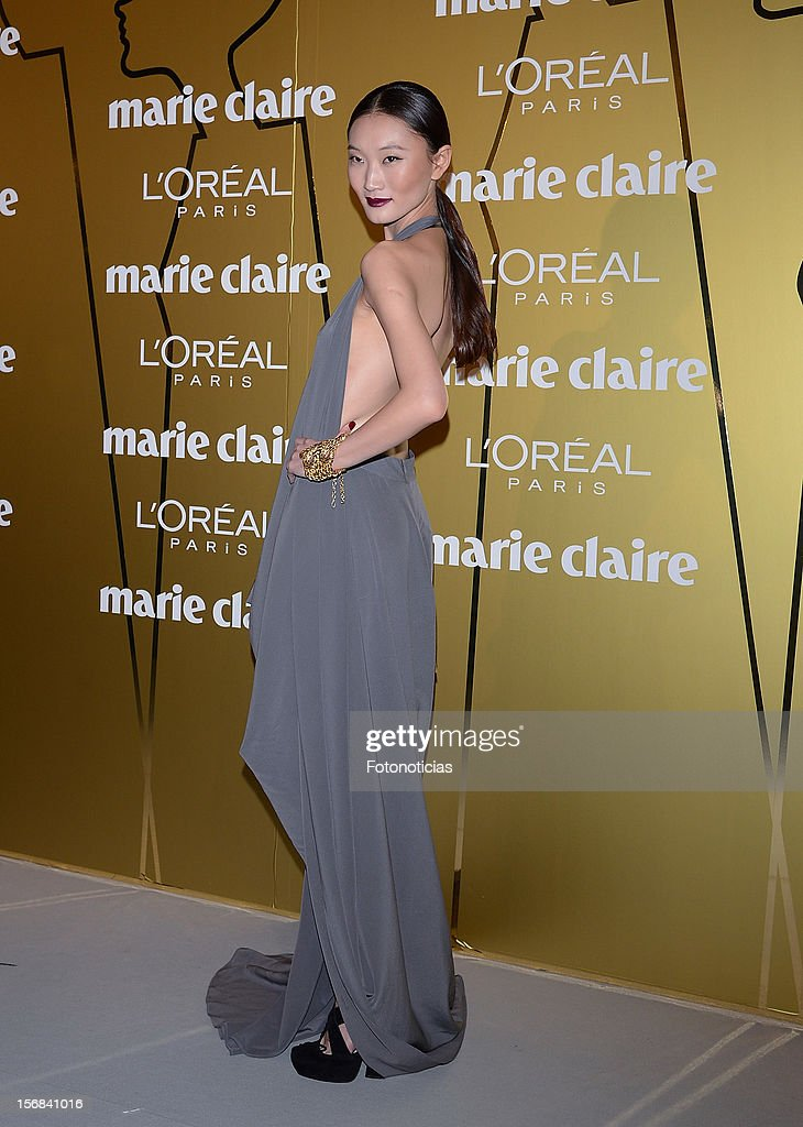 Carmen Xu attends 'Marie Claire Prix de la Mode 2012' ceremony at the French Ambassadors Residence on November 22, 2012 in Madrid, Spain.
