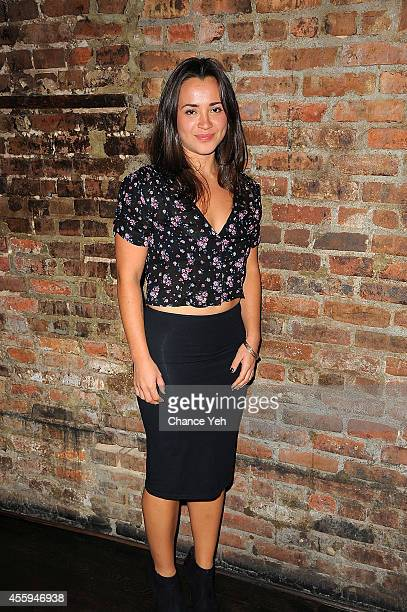 Carmen Zilles attends the opening night of 'Scenes From A Marriage' at Phebe's Tavern Grill on September 22 2014 in New York City