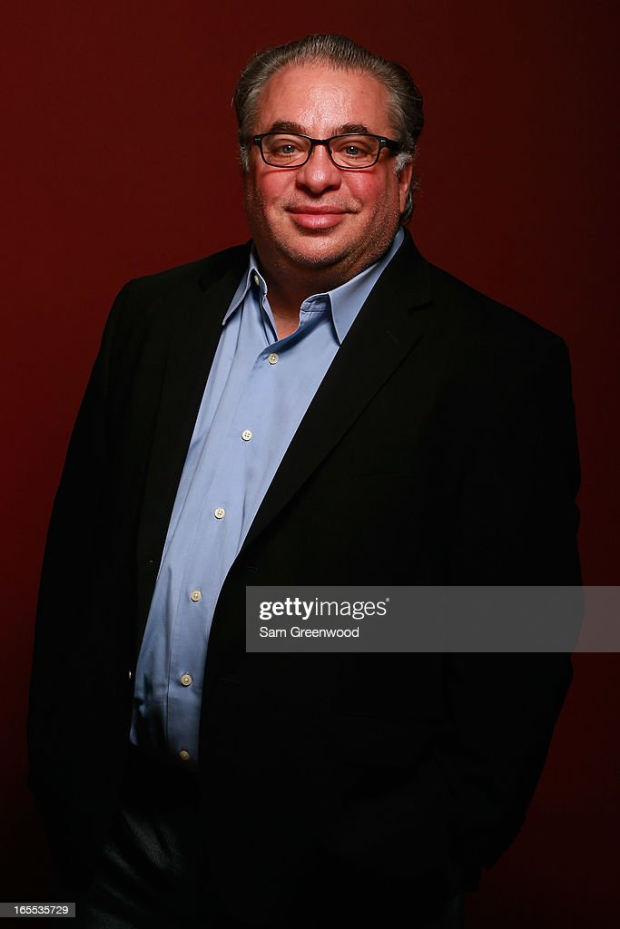 Carmin Romanelli, Vice President, Sports Business Developement for Getty Images poses at the World Congress Of Sports Executive Portrait Studio on April 3, 2013 in Naples, Florida.