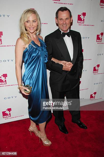 Carmindy and Bernd Beetz attend The 2nd Annual DKMS LINKED AGAINST LEUKEMIA Gala Red Carpet Arrivals at Capitale NYC on May 7 2008