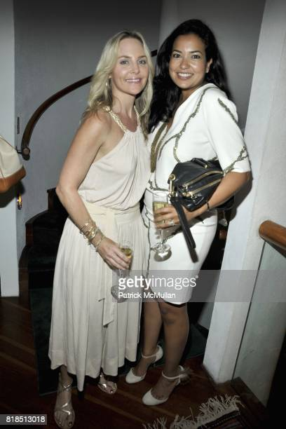 Carmindy Bowyer and Paula Rosado attend Eric Lerner Frank Cascio Celebrate their birthdays with Host Sean Parker and CoHosts Denise Rich Romero...