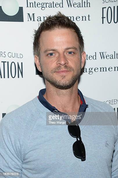 Carmine Giovinazzo attends the Screen Actors Guild Foundation Inaugural New York Golf Classic at Trump National Golf Club Westchester on October 7...
