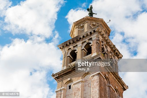 Carmini Bell Tower : Foto de stock