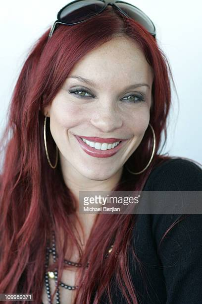 Carmit Bachar during DKNY Men's Underwear Celebrity Field Day at Skysport Spa in Beverly Hills California United States