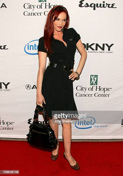 Carmit Bachar of The Pussycat Dolls during Songs of Hope IV at Esquire House 360 Red Carpet at Esquire House 360 in Beverly Hills California United...