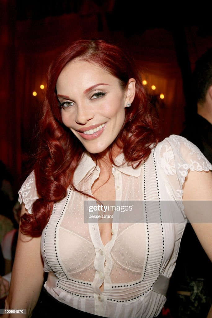 Carmit Bachar of The Pussycat Dolls during Viktor & Rolf Celebrates The Launch of Their Collection for H&M - Inside and Backstage at Private Residence in Bel-Air, California, United States.