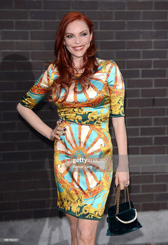 Carmit Cachar attends as Chickenshed perform a caberet showcase at The London Television Centre on April 16, 2013 in London, England.