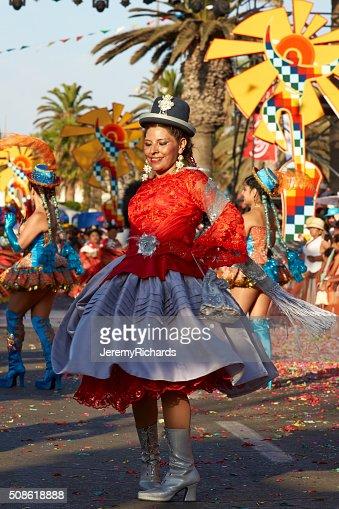 Carnival Dancer : Stock Photo