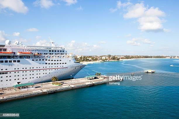 Carnival Fascination Cruise Ship at Port