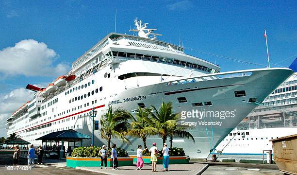 CONTENT] Carnival Imagination cruise ship docked at the port of Nassau The Bahamas