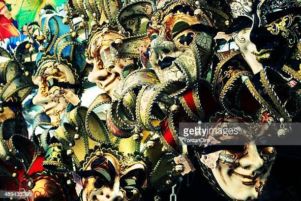Carnival masks in Venice.