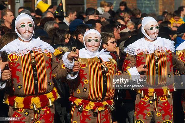 Carnival parade, Wallonie, Binche, Belgium