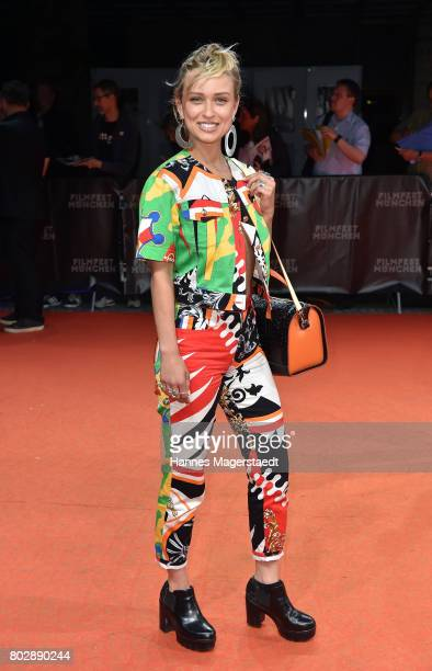 Caro Cult attends the 'Berlin Fallen' Premiere during Munich Film Festival 2017 at Gasteig on June 28 2017 in Munich Germany
