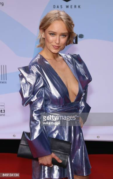 Caro Cult attends the 'First Steps Awards 2017' at Stage Theater on September 18 2017 in Berlin Germany
