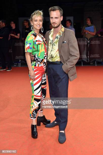 Caro Cultand Matthias Wackrow attends the 'Berlin Fallen' Premiere during Munich Film Festival 2017 at Gasteig on June 28 2017 in Munich Germany