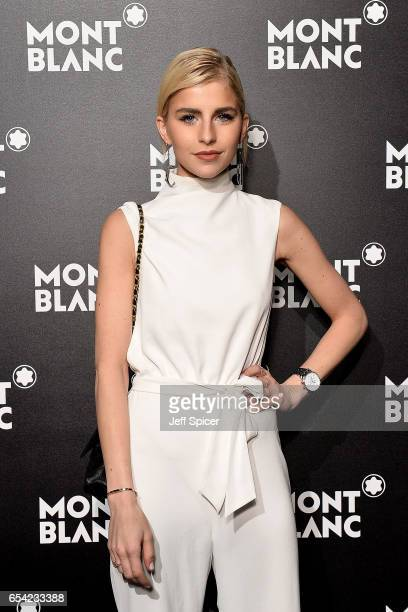 Caro Dauer attends the Montblanc Summit launch event at The Ledenhall Building on March 16 2017 in London England