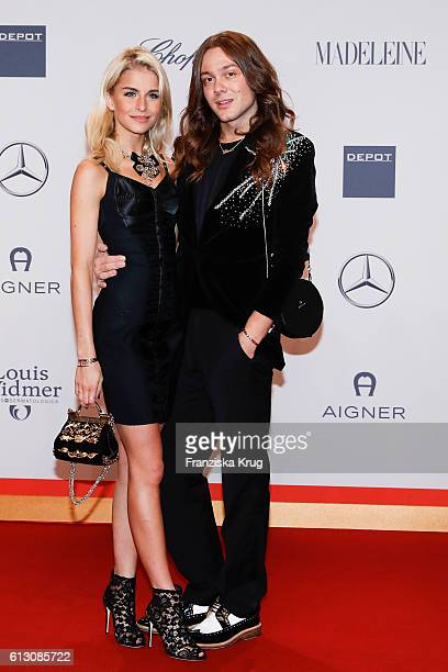 Caro Daur and Riccardo Simonetti attend the Tribute To Bambi at Station on October 6 2016 in Berlin Germany