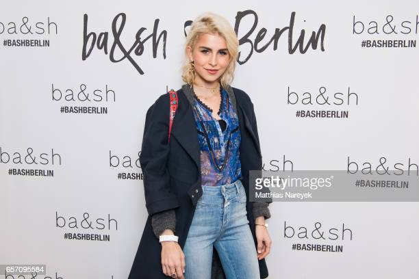 Caro Daur attends the BaSh store opening on March 23 2017 in Berlin Germany