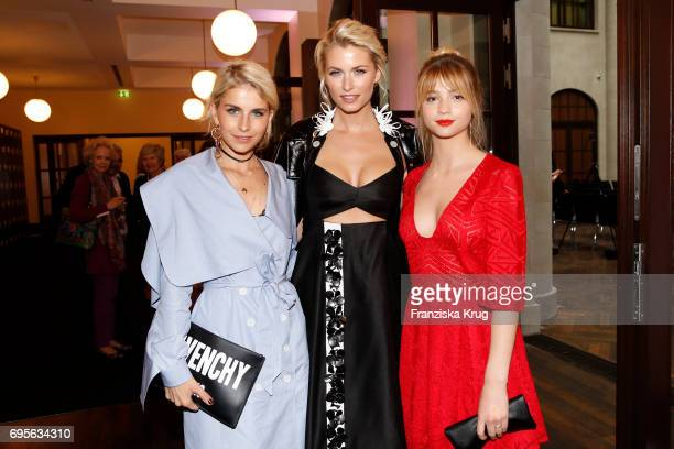 Caro Daur Lena Gercke and LisaMarie Koroll attend the Montblanc De La Culture Arts Patronage Award 2017 at Humboldt Carre on June 13 2017 in Berlin...