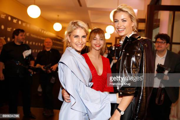 Caro Daur LisaMarie Koroll and Lena Gercke attend the Montblanc De La Culture Arts Patronage Award 2017 at Humboldt Carre on June 13 2017 in Berlin...