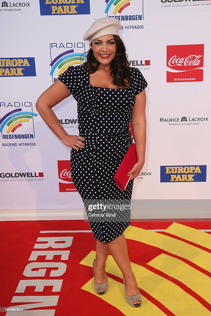 Caro Emerald attends the Radio Regenbogen Award 2013 at Europapark on April 19, 2013 in Rust, Germany.