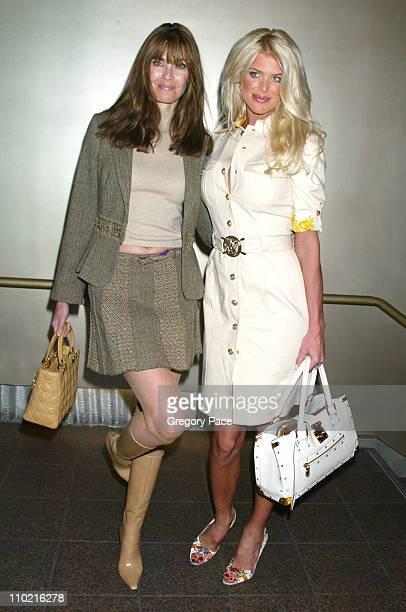 Carol Alt and Victoria Silvstedt during 'Dressed to Kilt' A Scottish Evening of Fashion and Fun Arrivals and Backstage at Copacabana in New York City...