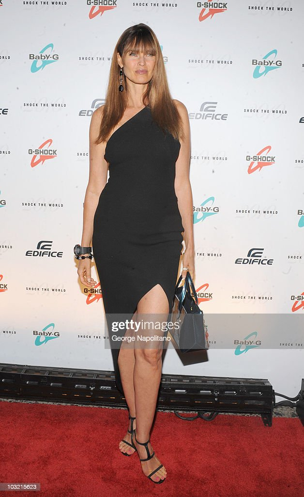 Carol Alt attends Casio's Shock The World 2010 at The Manhattan Center on August 2 2010 in New York City