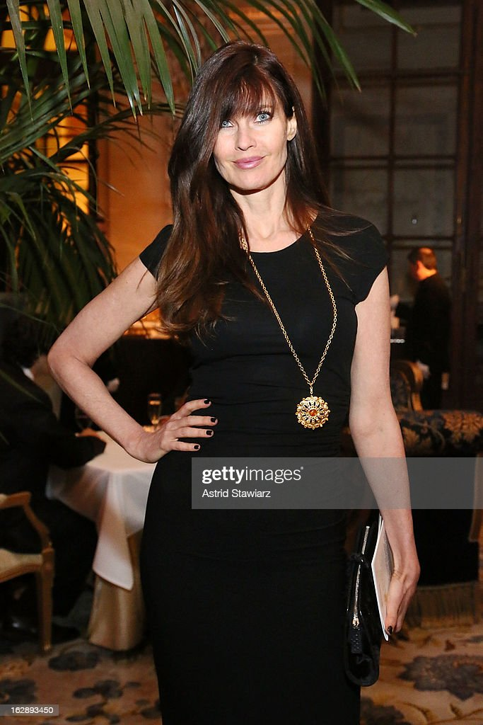 Carol Alt attends the 2013 Adults In Toyland Casino Night at NYU Langone Medical Center on February 28, 2013 in New York City.