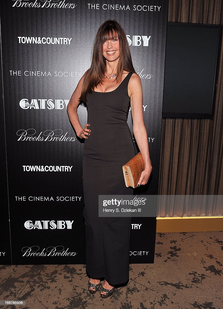 Carol Alt attends the Brooks Brothers and Town & Country with The Cinema Society screening of 'The Great Gatsby' at HBO Screening Room on May 7, 2013 in New York City.