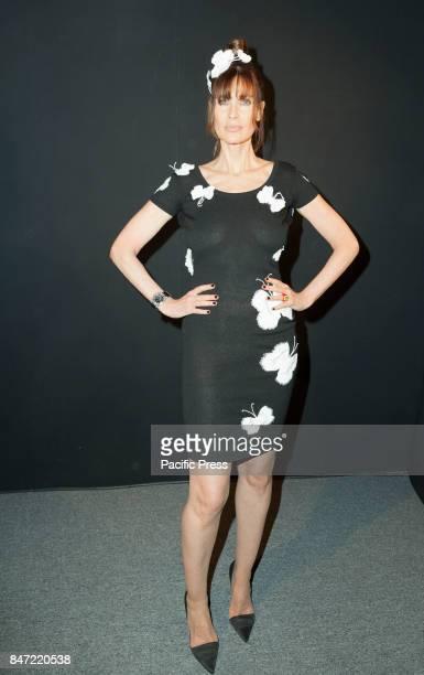 Carol Alt attends Zang Toi fashion show during New York Fashion Week Spring/Summer 2018 at Skylight Clarkson