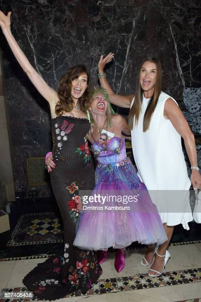 Carol Alt Betsey Johnson and Brooke Shields attend the Accessories Council's 21st Annual celebration of the ACE awards at Cipriani 42nd Street on...
