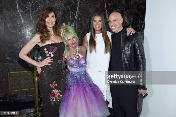 Carol Alt Betsey Johnson Brooke Shields and Robert Verdi attend the Accessories Council's 21st Annual celebration of the ACE awards at Cipriani 42nd...