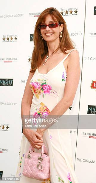 Carol Alt during The Cinema Society and The Wall Street Journal Present a Screening of The Night Listener at UA Theater in East Hampton New York...