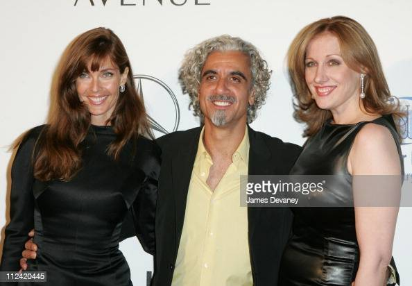 Carol Alt Ric Pipino and Amy Sacco during Key to the Cure Launch by Saks Fifth Avenue at Gotham Hall in New York City New York United States