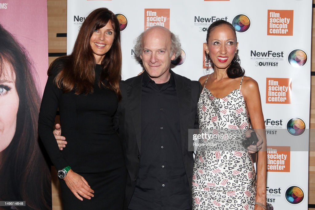 Carol Alt Timothy GreenfieldSanders and Pat Cleveland attends the 2012 NewFest 'About Face Supermodels Now And Then' Screening at Walter Reade...
