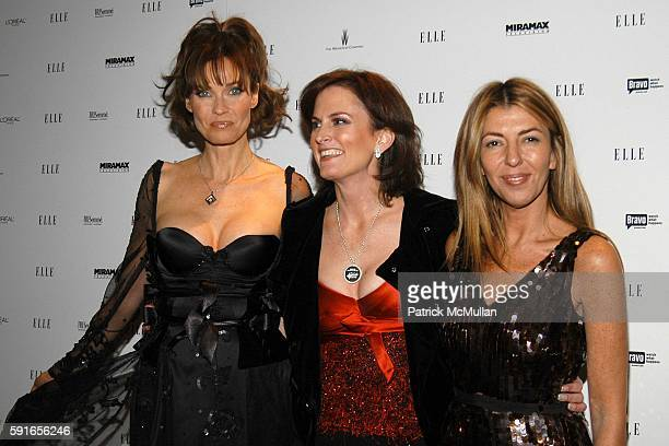 Carol Alt Wendy Pepper and Nina Garcia attend ELLE Magazine Hosts Viewing Party for 2nd Season Premiere of Bravo's EmmyNominated 'Project Runway' and...
