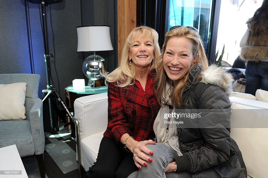 Carol Ann McAdams (L) and actress <a gi-track='captionPersonalityLinkClicked' href=/galleries/search?phrase=Joey+Lauren+Adams&family=editorial&specificpeople=621841 ng-click='$event.stopPropagation()'>Joey Lauren Adams</a> attendthe Sundance Film Festival: Creative Coalition Luncheon at The Sky Lodge during the 2013 Sundance Film Festival on January 19, 2013 in Park City, Utah.