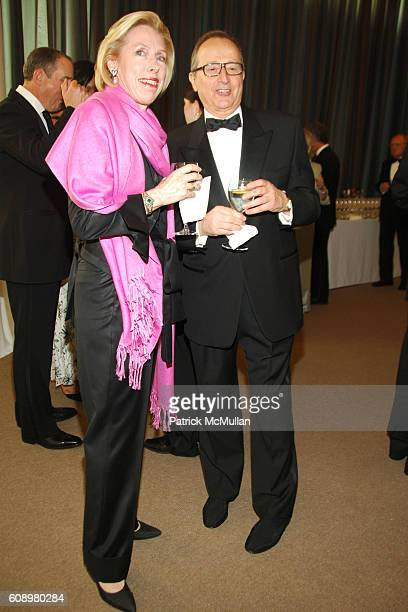 Carol Boulanger and Voscain Boulange attend ALZHEIMER'S DRUG DISCOVERY FOUNDATION Hosts FirstEver Connoisseur's Dinner at Sotheby's on May 2 2007 in...