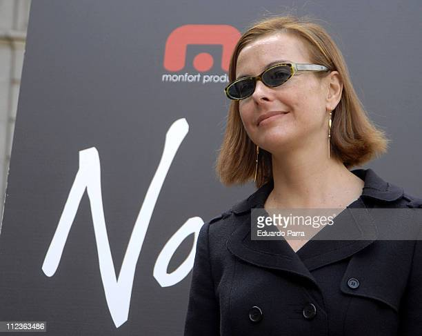 Carol Bouquet during Carol Bouquet at the 'The Northeastern' Photocall in Madrid in Madrid Madrid Madrid Spain