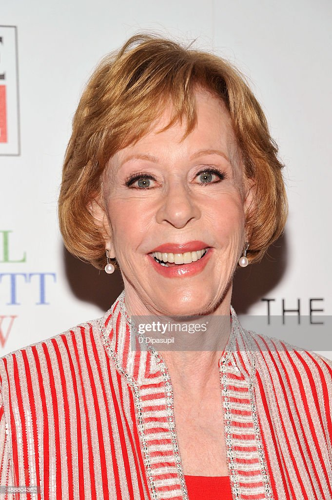 <a gi-track='captionPersonalityLinkClicked' href=/galleries/search?phrase=Carol+Burnett&family=editorial&specificpeople=206201 ng-click='$event.stopPropagation()'>Carol Burnett</a> attends the 'The <a gi-track='captionPersonalityLinkClicked' href=/galleries/search?phrase=Carol+Burnett&family=editorial&specificpeople=206201 ng-click='$event.stopPropagation()'>Carol Burnett</a> Show: The Lost Episodes' screening hosted by Time Life and The Cinema Society at The Roxy Hotel on September 17, 2015 in New York City.